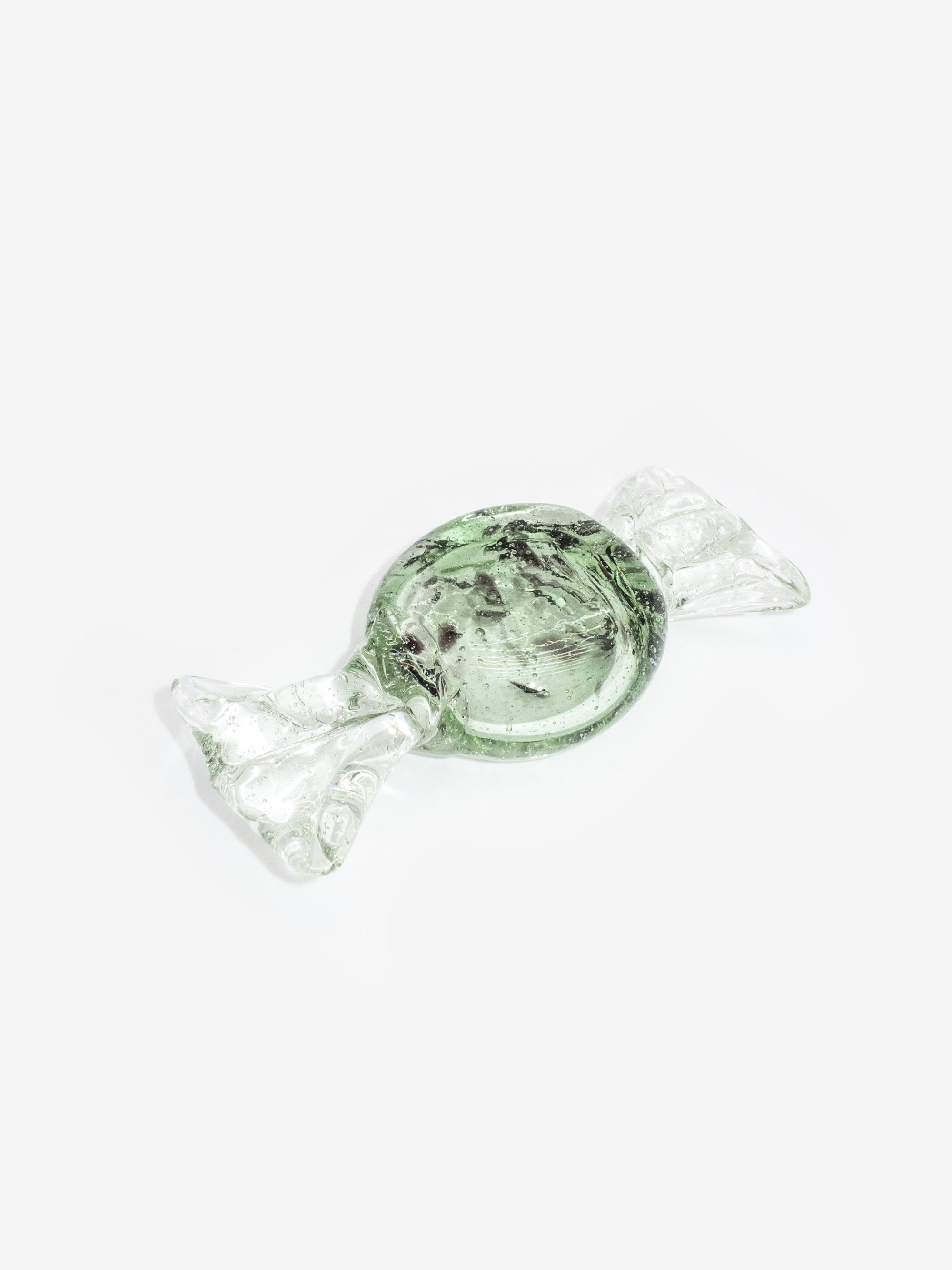 Vintage Glass Candy Paperweight