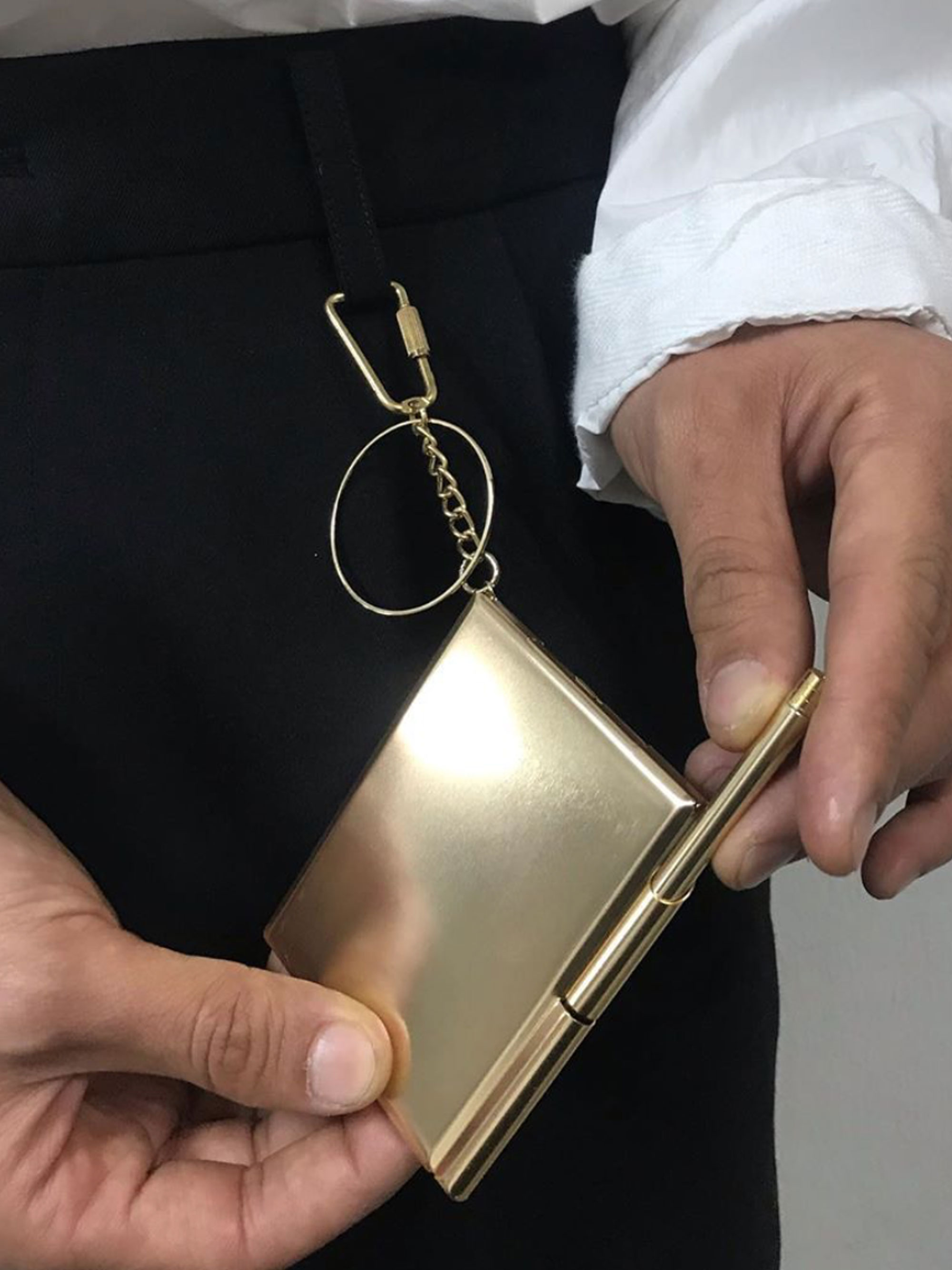 Note Holder with Pen