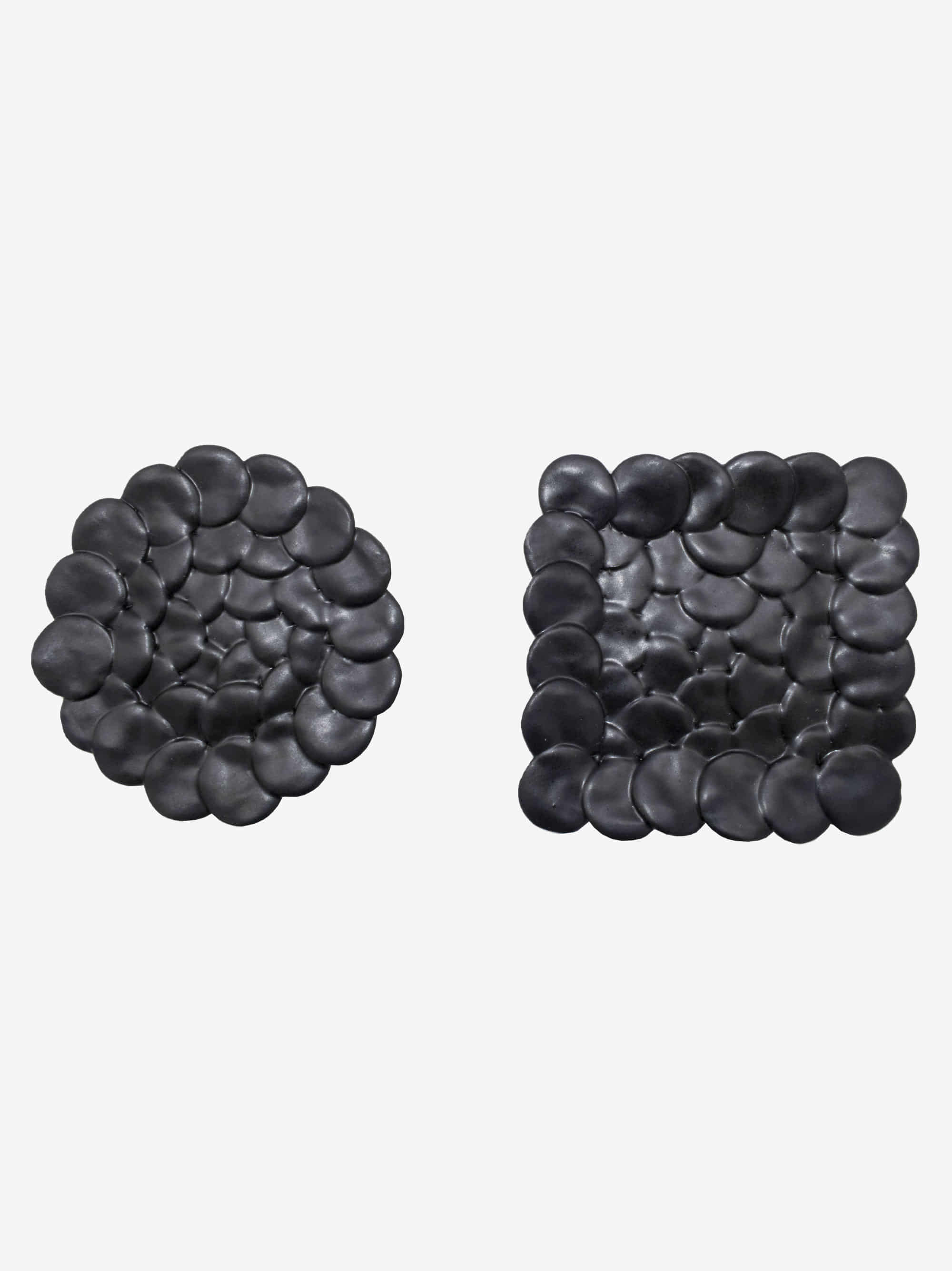 Mosaic Small Plate Black