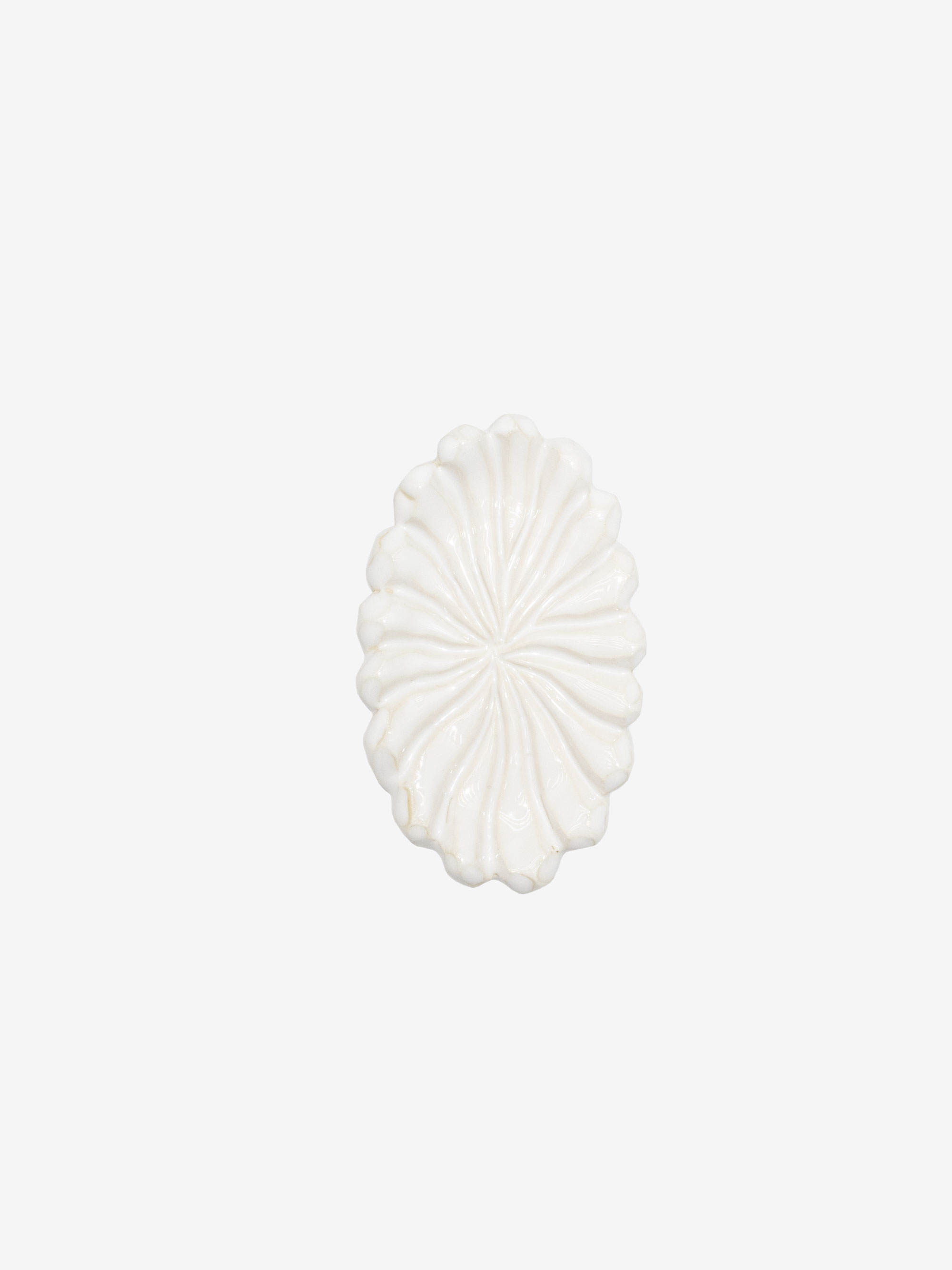 Sea Creature Tray Clod White