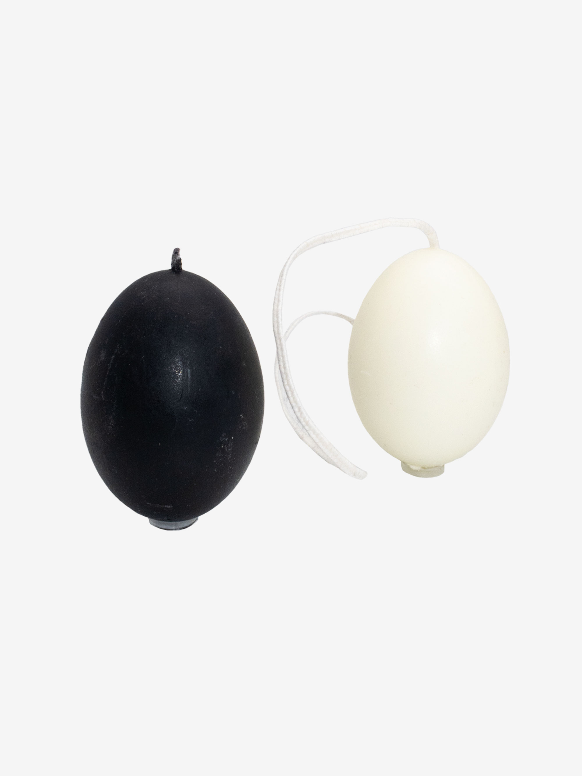 Goose Egg Candle White