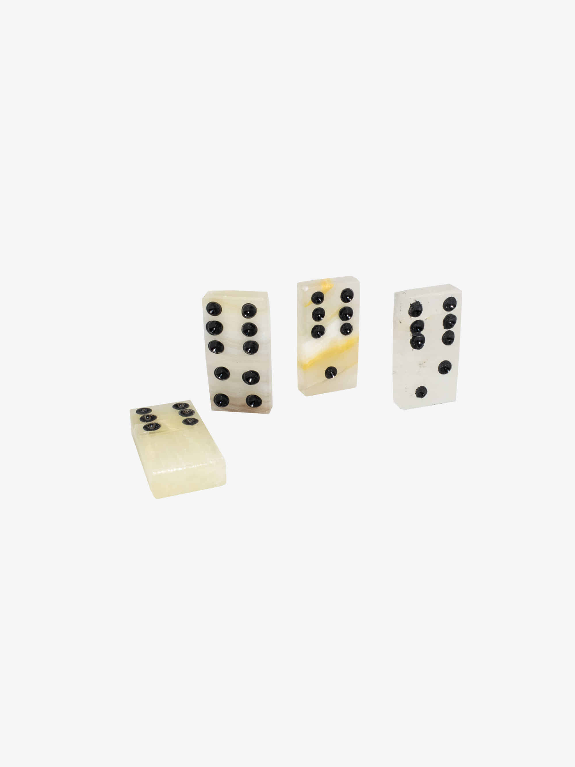 Onyx Domino Set Clear