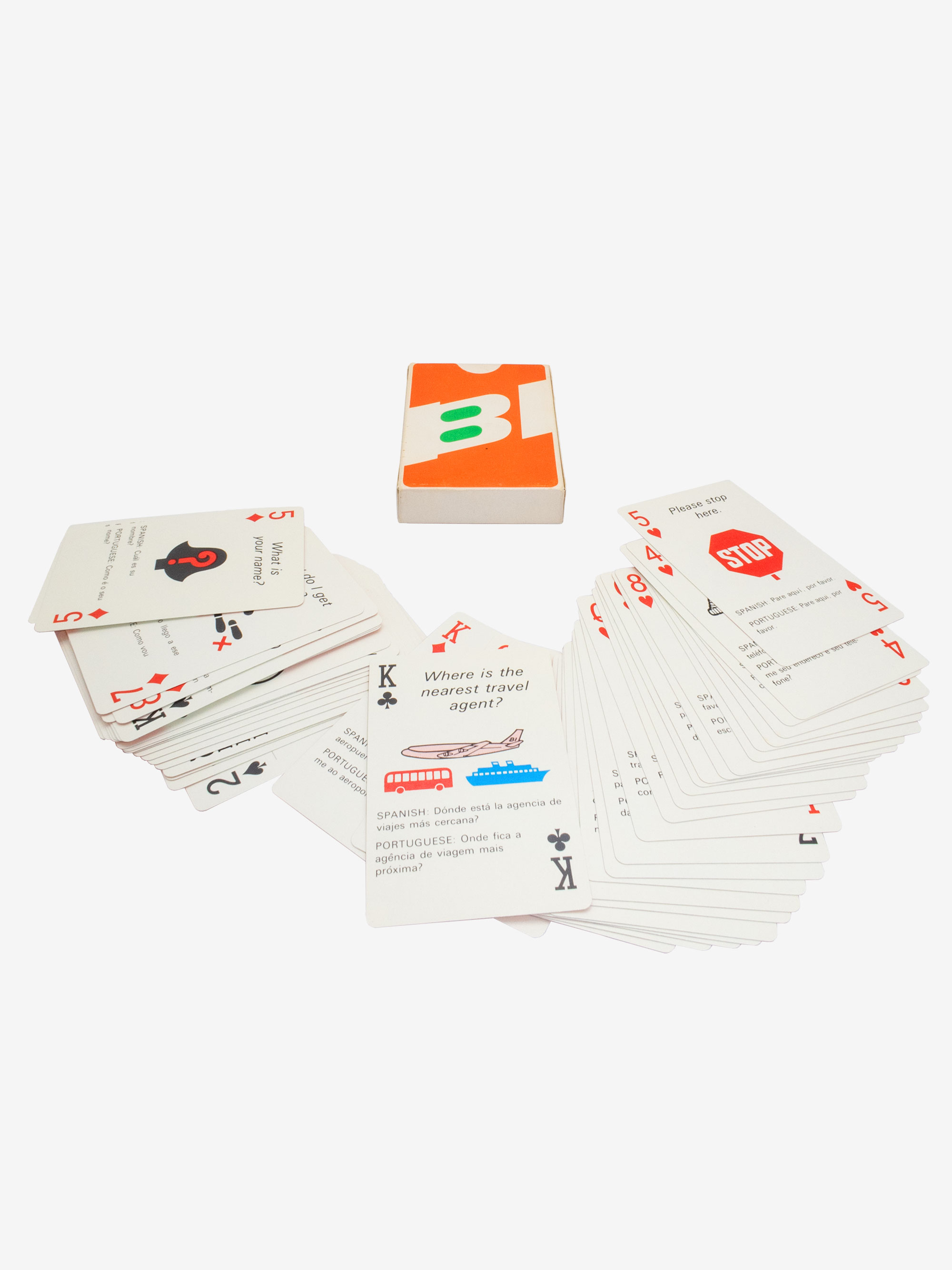 Playing Card by Braniff Airway