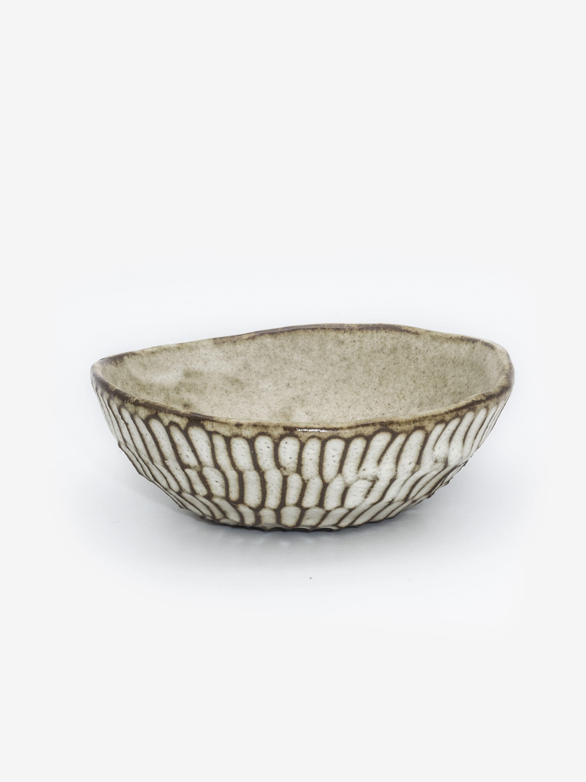 Textured Bowl in Black