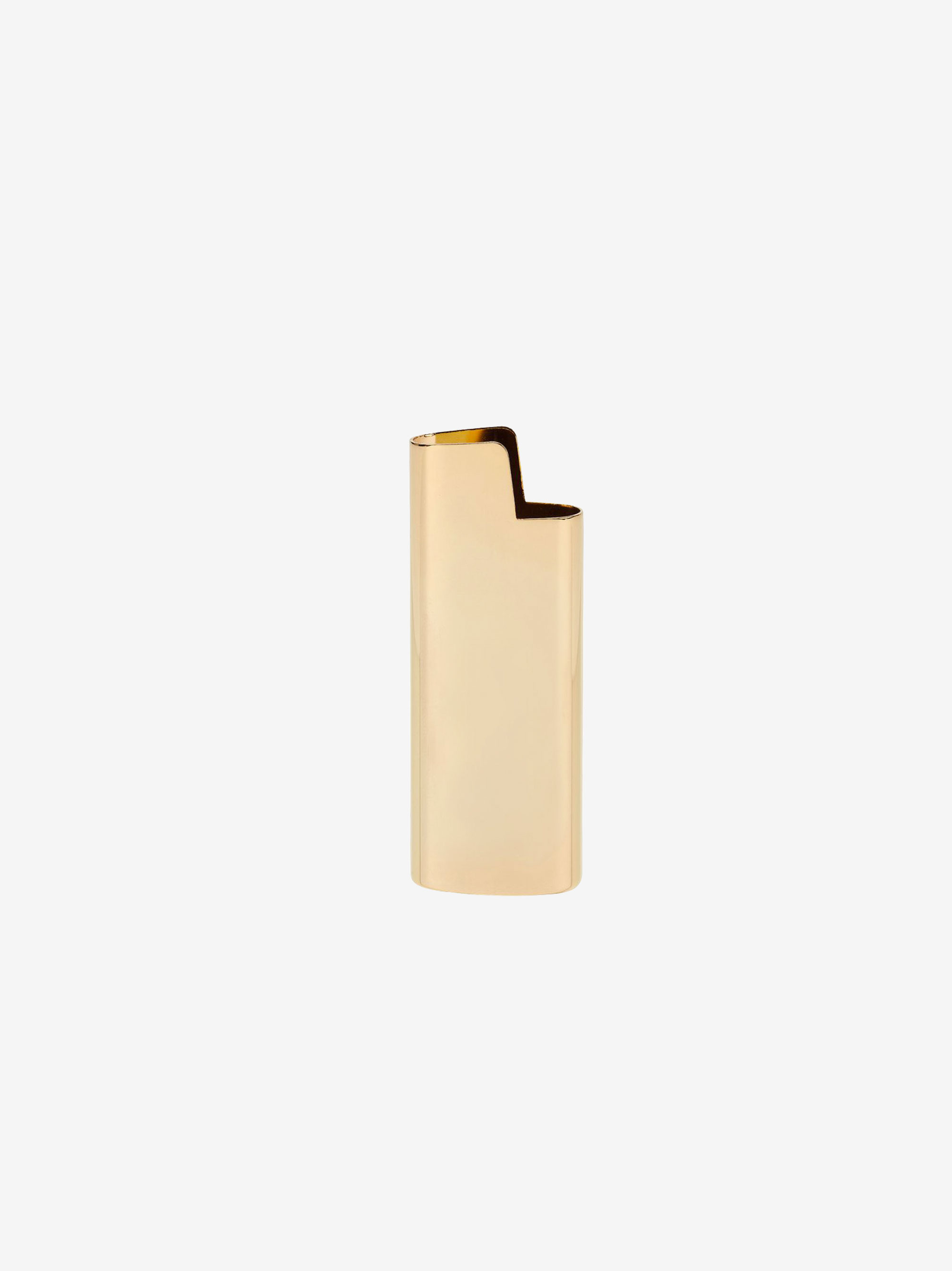 Mini BIC Lighter Holder Gold
