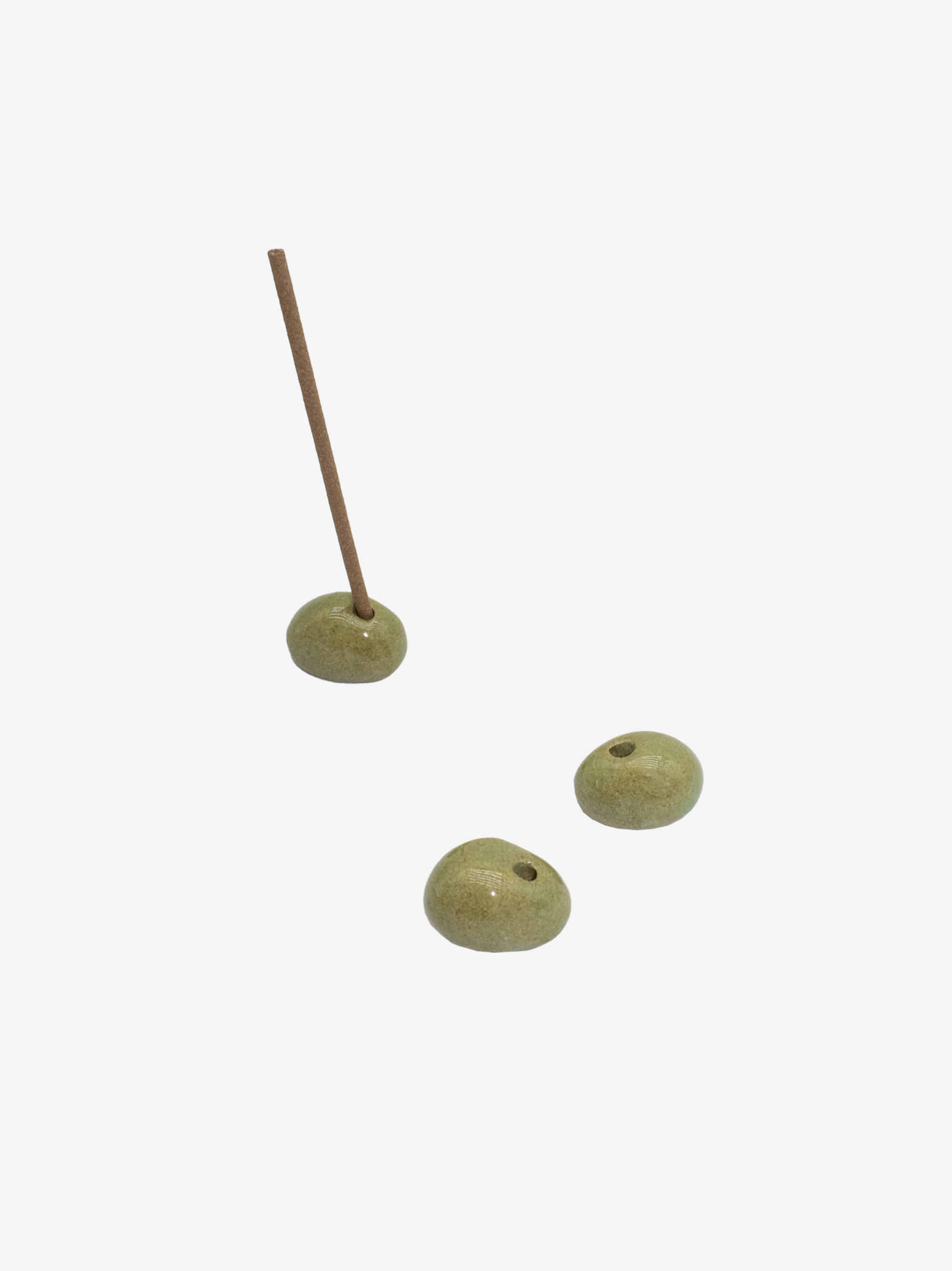 Incense Holder Olive